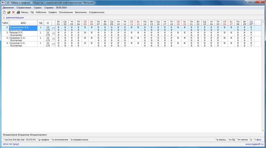 Автоматическое Заполнение Производственного Табеля В Программе Excel